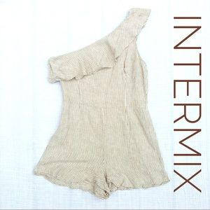 INTERMIX Linen Romper
